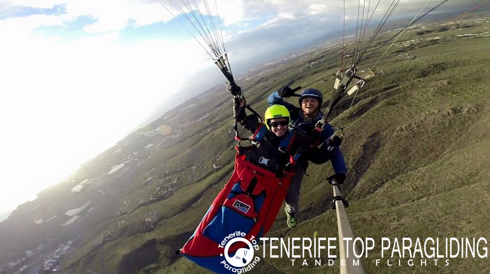 Tenerife Paragliding - book your tandem flight