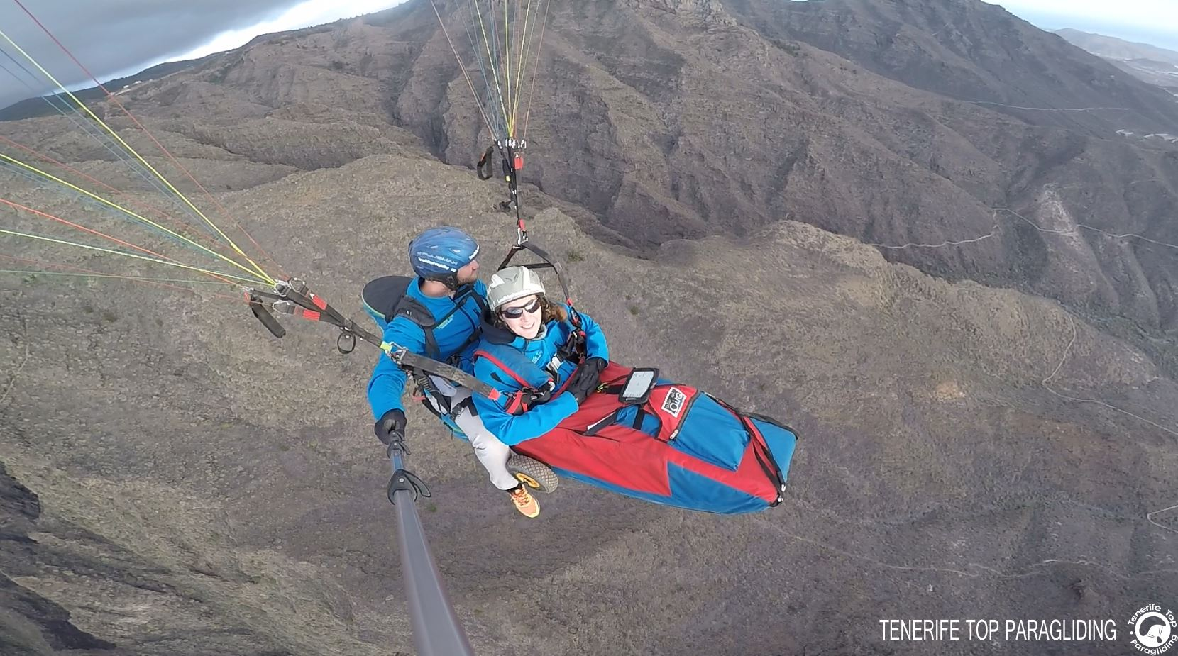 Adapted paragliding, a flight accessible to all