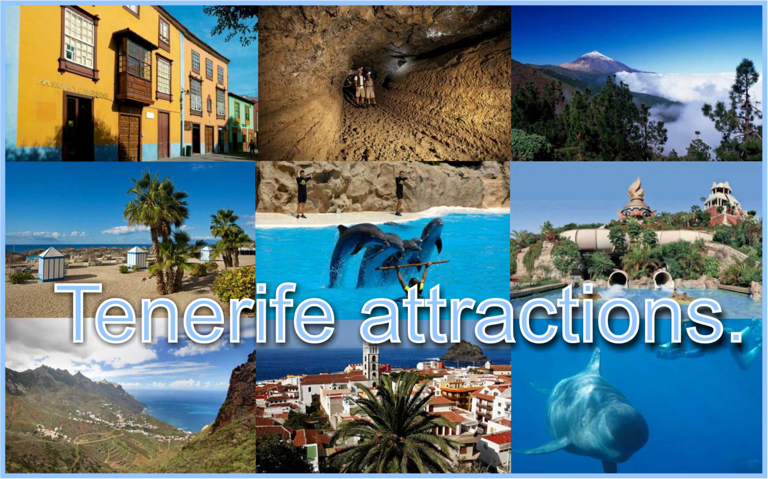 Main Attractions of Tenerife